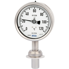 Gas-actuated thermometer type 74