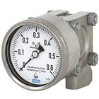 Manometers for measuring differential pressure